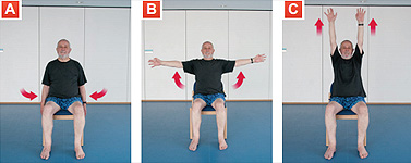 Arm Raises - Exercises for Seniors