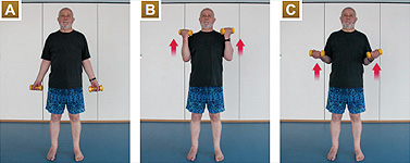 Bicep Curls - Exercises for Seniors