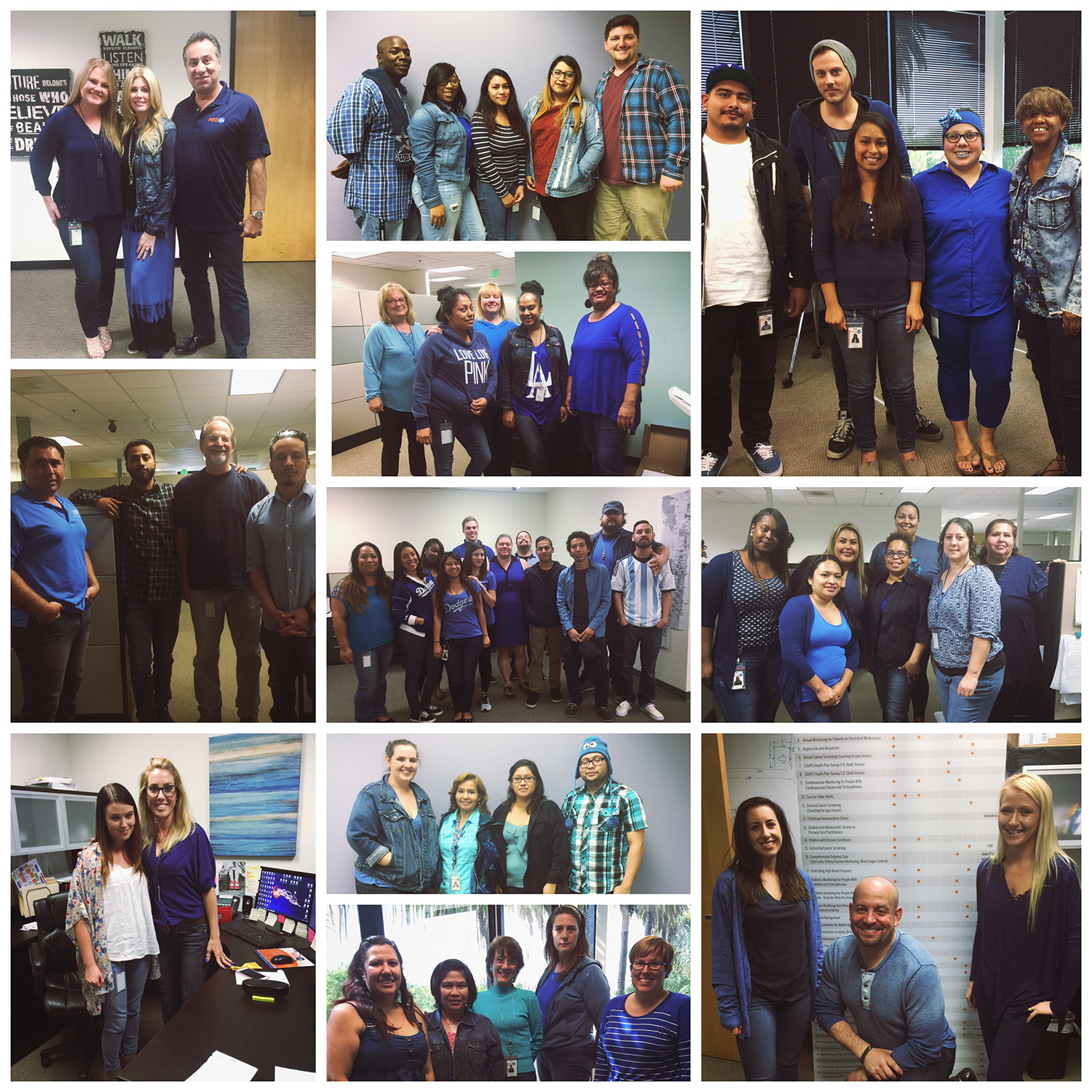 Wear Blue Day at MedXM