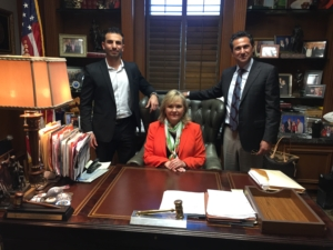 MedXM General Counsel and CEO with Oklahoma Governor